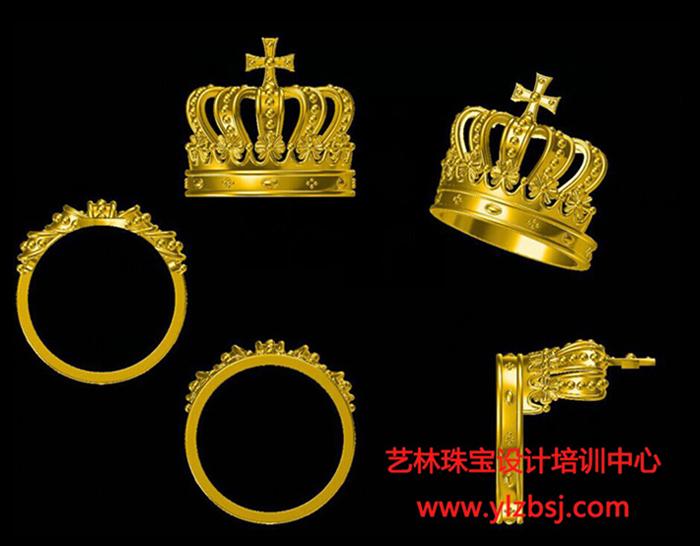 珠宝电绘设计-皇冠
