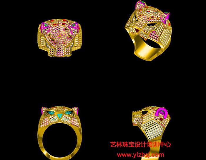 珠宝电绘作品-戒指