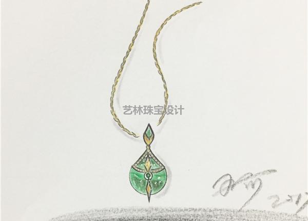珠宝首饰设计作品欣赏