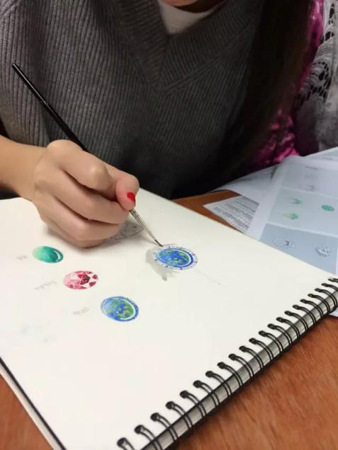 珠宝手绘培训:绽放灵感 成就事业之美